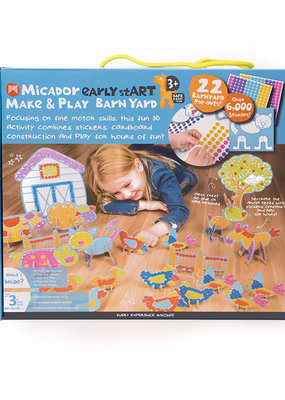 Micador Make and Play 22 Piece Barnyard Set