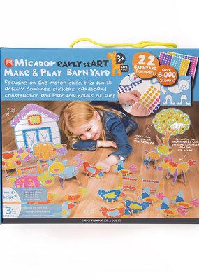 Micador Make and Play 22 Piece Barnyard Set