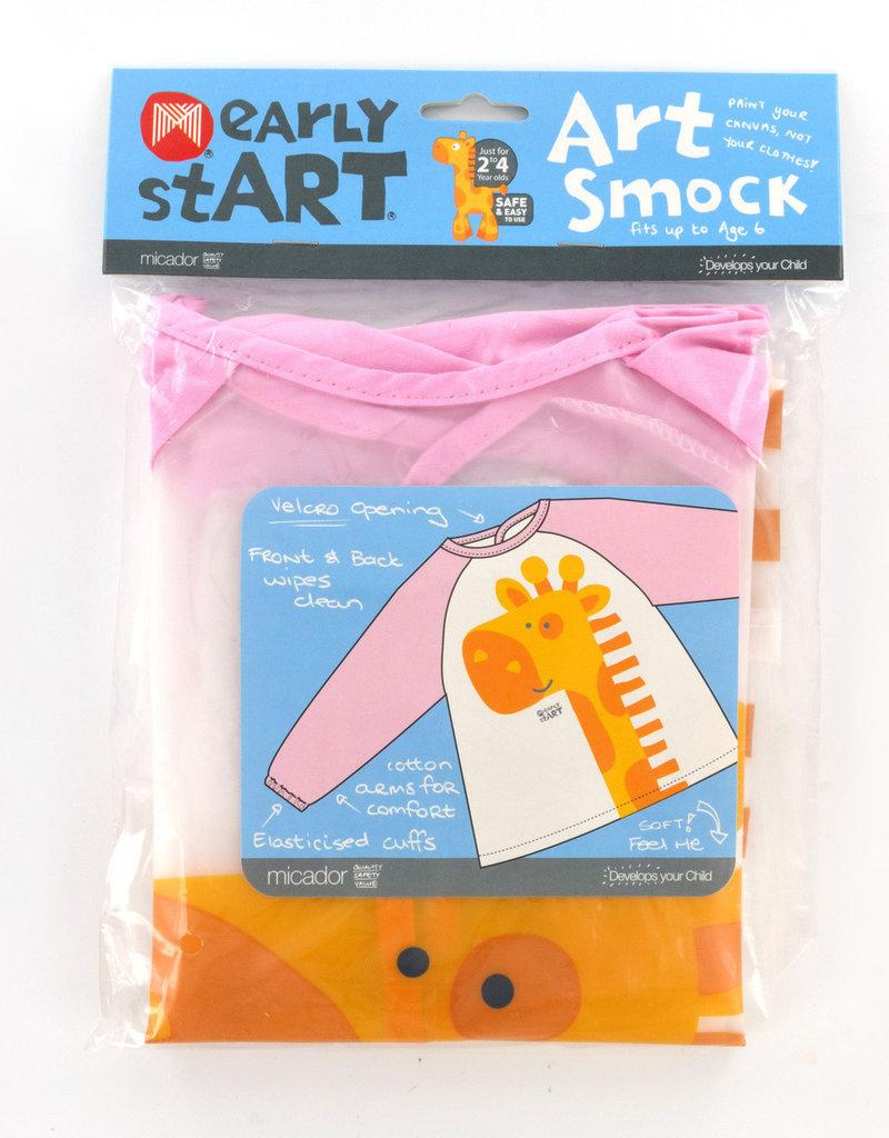 Micador Art Smock Pink