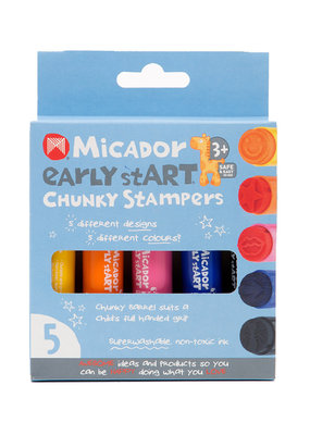 Micador Chunky Stampers 5 Stamp Set