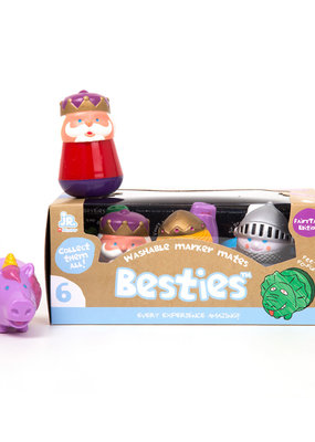 Micador Besties Marker Mates Fairytale 6 Pack