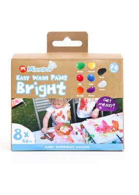 Micador Easy Wash Paint Bright 8 Color Set