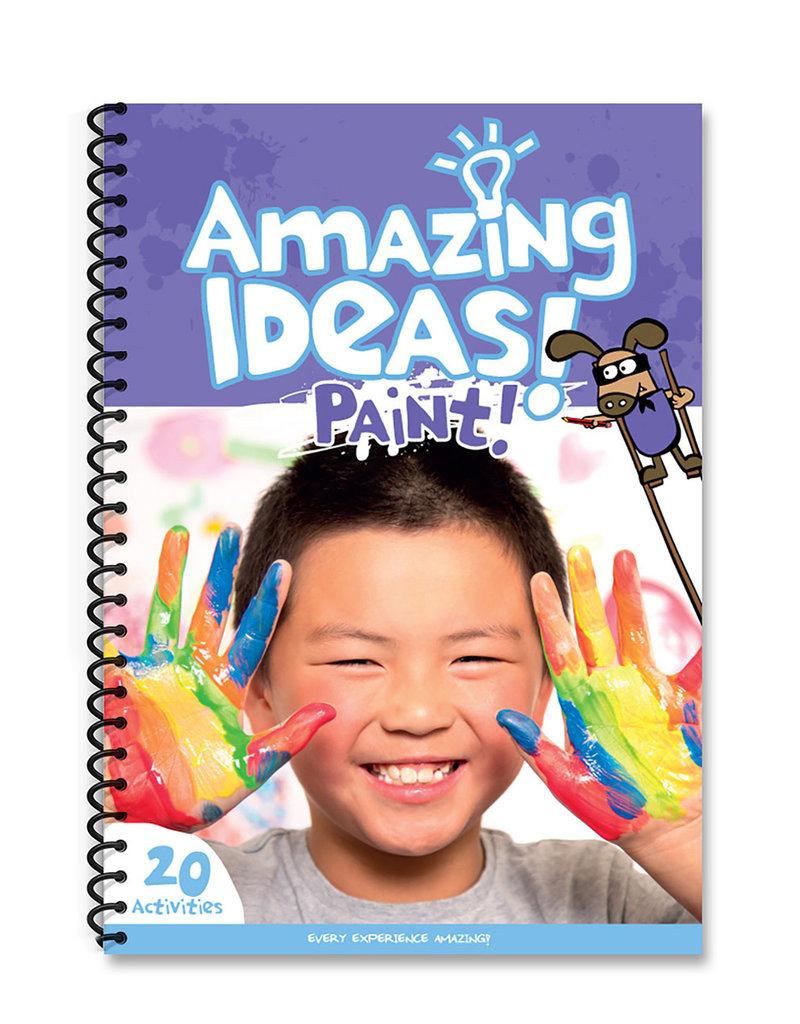 Micador Amazing Ideas Activity Pack Paint