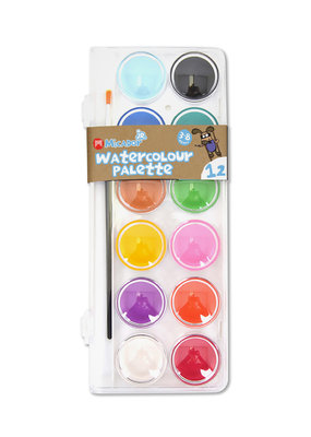 Micador Watercolour Palette 12 Color Set