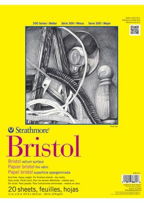 Strathmore Strathmore Bristol Regular Paper Pad Series 300 11 x 14 Inch