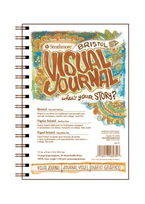 Strathmore Strathmore Visual Journal Bristol Vellum 5.5 x 8 Inch
