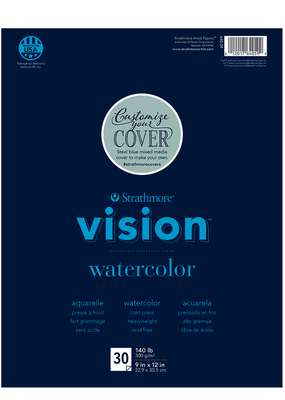 Strathmore Strathmore Vision Watercolor Paper Pad 9 x 12 Inch