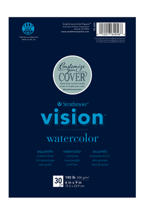 Strathmore Strathmore Vision Watercolor Paper Pad 6 x 9 Inch