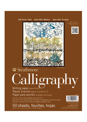 Strathmore Strathmore Calligraphy Paper Pad 400 Series 8.5 x 11 Inch