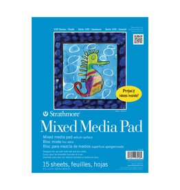 Strathmore Strathmore Kids Mixed Media Paper Pad 9 x 12 Inch