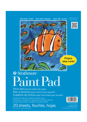 Strathmore Strathmore Kids Paint Paper Pad 9 x 12 Inch