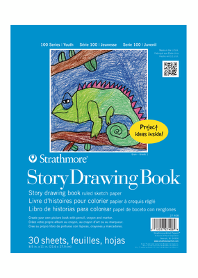 Strathmore Strathmore Kids Story Drawing Book 8.5 x 11 Inch