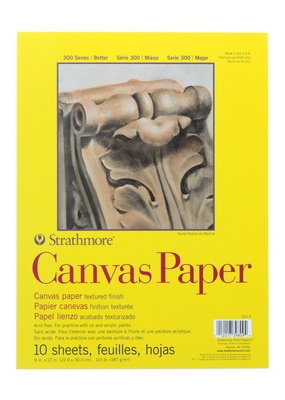 Strathmore Strathmore Canvas Paper Pad 300 Series 9 x 12 Inch