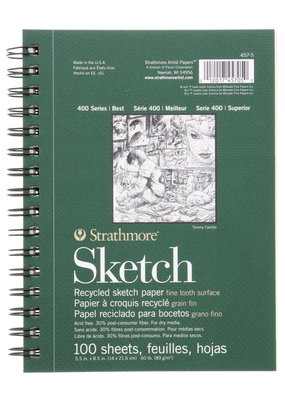 Strathmore Strathmore Sketch Paper Pad 400 Series Recycled 5.5 x 8.5 Inch