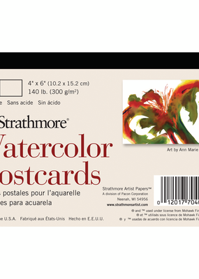 Strathmore Strathmore Watercolor Postcards Blank 4 x 6 Inch