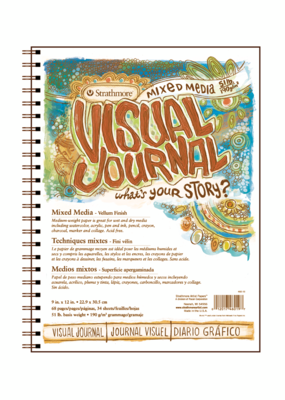 Strathmore Strathmore Visual Journal Mixed Media 9 x 12 Inch