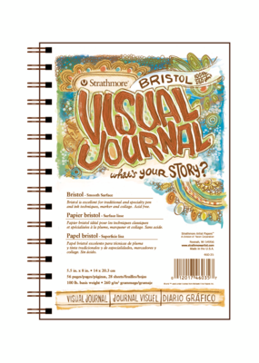Strathmore Strathmore Visual Journal Bristol Smooth 5.5 x 8 Inch