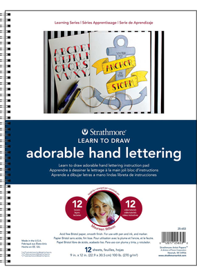 Strathmore Strathmore Learn Adorable Hand Lettering Pad
