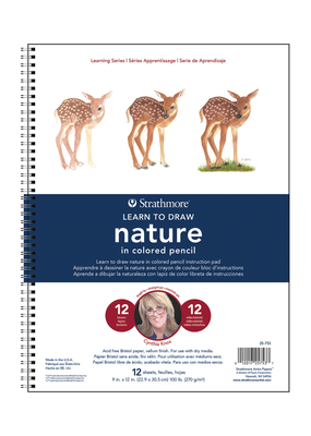 Strathmore Strathmore Learn Nature Colored Pencil Pad