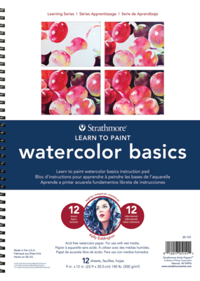 Strathmore Strathmore Learning Series Watercolor Basics Pad
