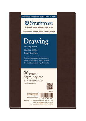 Strathmore Strathmore Softcover Drawing Art Journal 400 Series 5.5 x 8 Inch