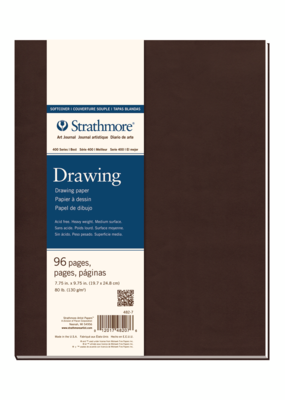 Strathmore Strathmore Softcover Drawing Art Journal 400 Series 7.75 x 9.75 Inch