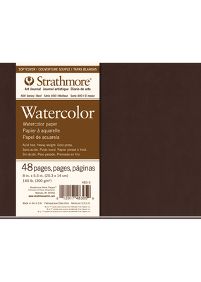 Strathmore Strathmore Softcover Watercolor Art Journals 400 Series 8 X 5.5 Inch