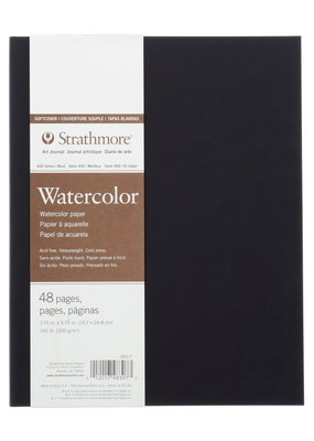 Strathmore Strathmore Softcover Watercolor Art Journal 400 Series 7.75 x 9.75 Inch