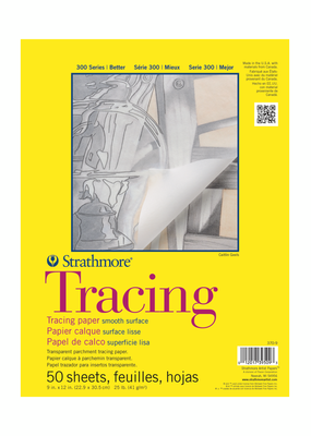 Strathmore Strathmore Tracing Paper Pad 300 Series 9 x 12 Inch