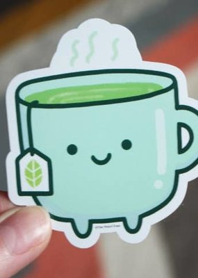 Free Period Press Vinyl Sticker Tea