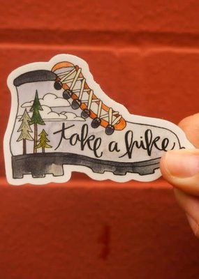 KPB Designs Sticker Hiking Boot