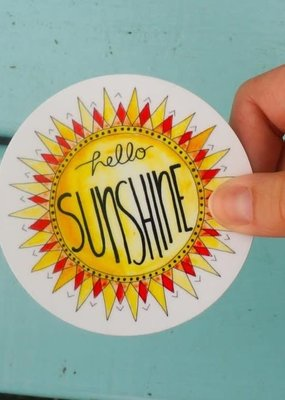 KPB Designs Sticker Sunshine