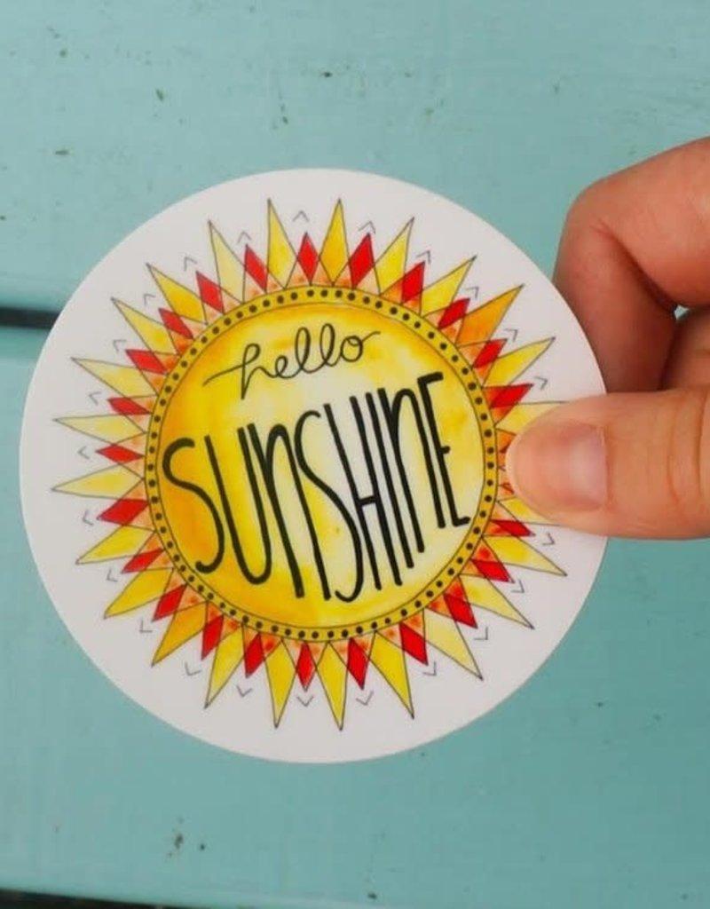 KPB Designs Sticker Sunshine