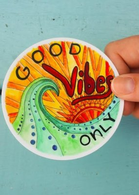 KPB Designs Sticker Good Vibes Only