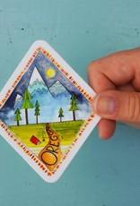 KPB Designs Sticker Oregon Diamond