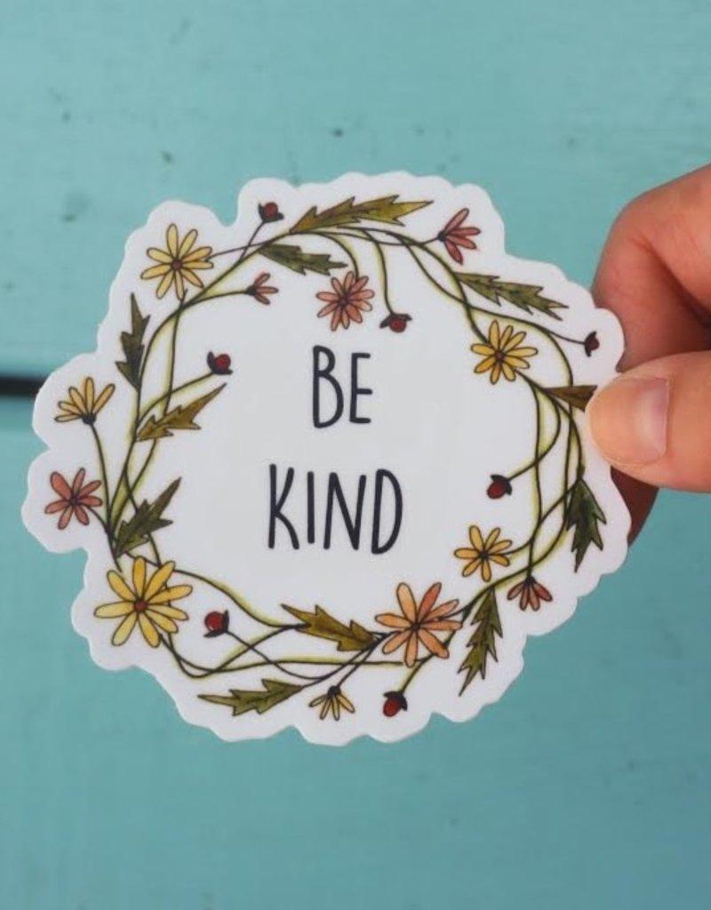 KPB Designs Sticker Be Kind