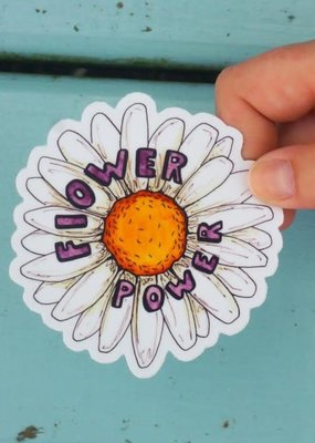 KPB Designs Sticker Flower Power