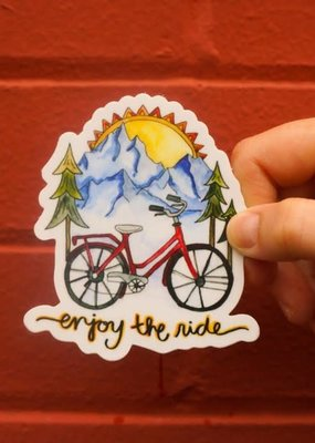 KPB Designs Sticker Bike Ride