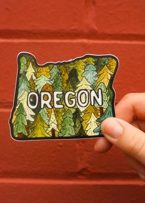 KPB Designs Sticker Oregon