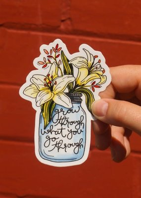 KPB Designs Sticker Lillies