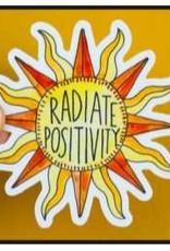 KPB Designs Sticker Radiate Positivity