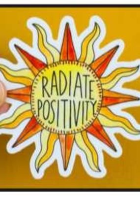 KPB Designs Sticker Radiate Positivity