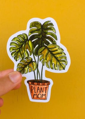 KPB Designs Sticker Plant Mom