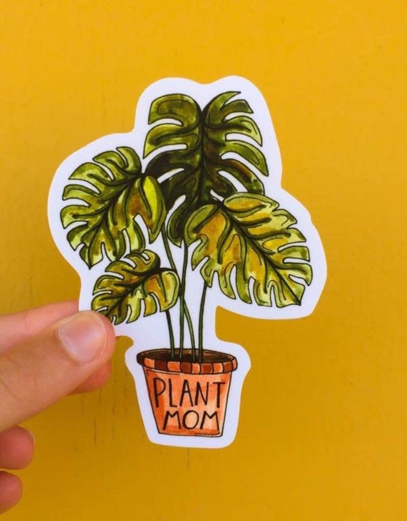 KPB Designs Sticker Plant Mom