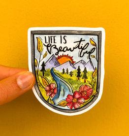 KPB Designs Sticker Beautiful Life