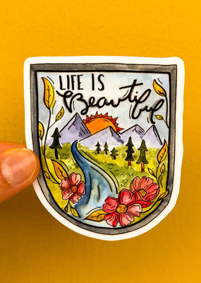 KPB Designs Sticker Beautiful Life