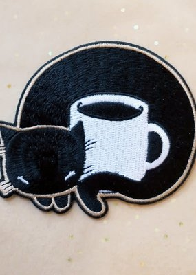 Stasia Burrington Patch Coffee Cat