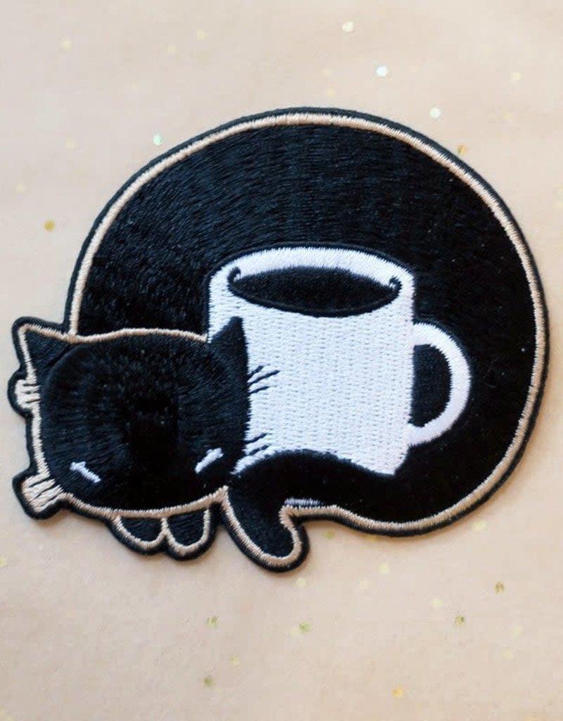 Stasia Burrington Patch Coffee Cat