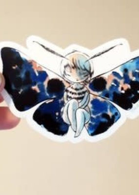 Stasia Burrington Sticker Moth Girl