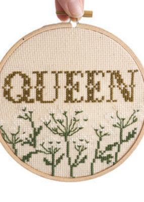 Junebug and Darlin Cross Stitch Kit Queen
